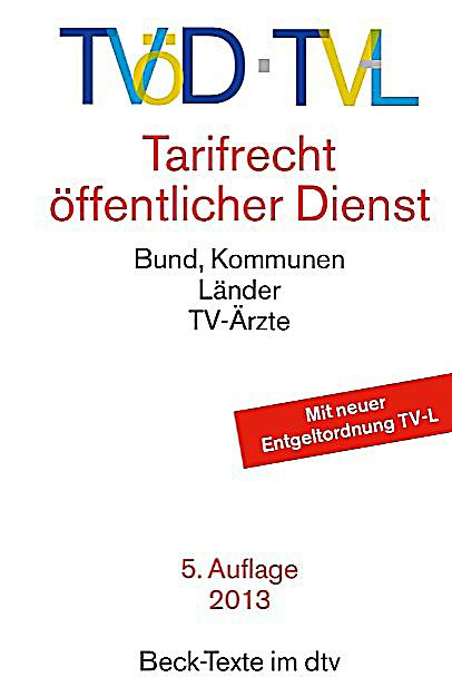 tv d tv l tarifrecht ffentlicher dienst buch portofrei. Black Bedroom Furniture Sets. Home Design Ideas