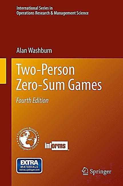 Two-Person Zero-Sum Games Buch portofrei bei Weltbild.ch
