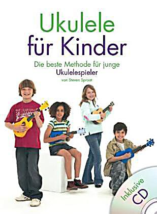 ukulele f r kinder m audio cd buch portofrei bei. Black Bedroom Furniture Sets. Home Design Ideas