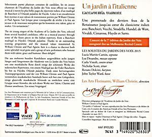 Un jardin a l 39 italienne cd jetzt online bei - Jardin a l italienne ...
