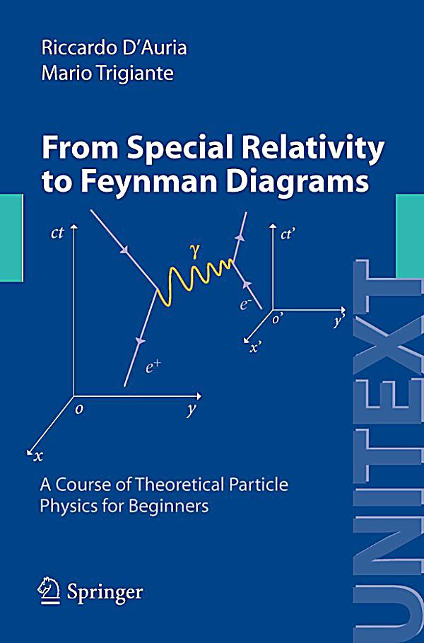 Unitext  From Special Relativity To Feynman Diagrams Ebook