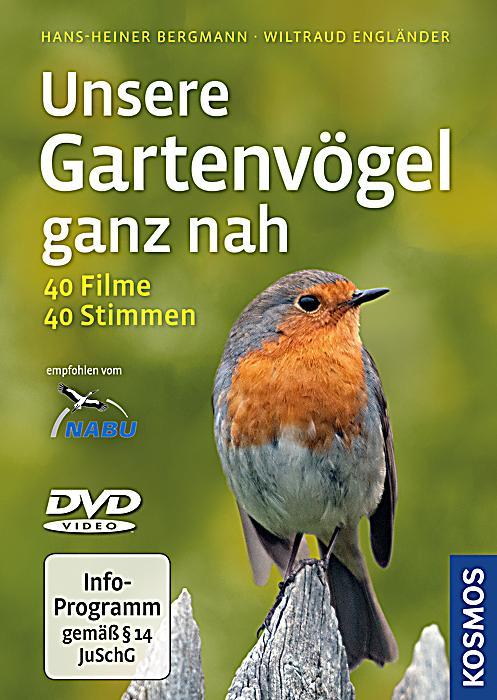 Unsere gartenv gel ganz nah 1 dvd buch portofrei bei for Gartengestaltung joanna