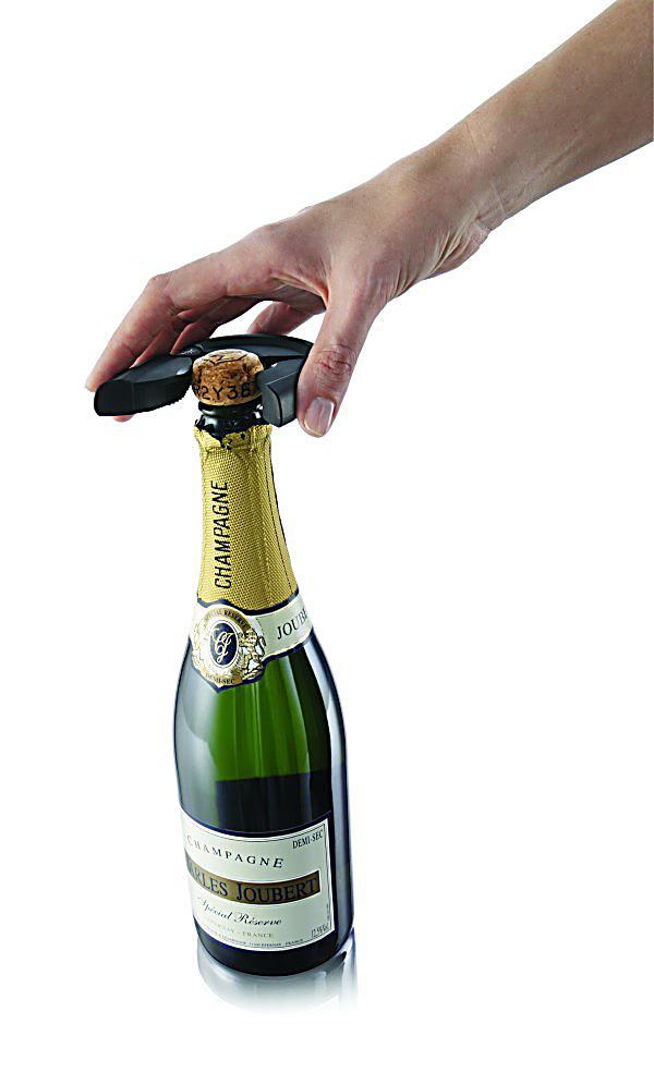 vacu vin baraccessoires flaschen ffner f r champagner. Black Bedroom Furniture Sets. Home Design Ideas