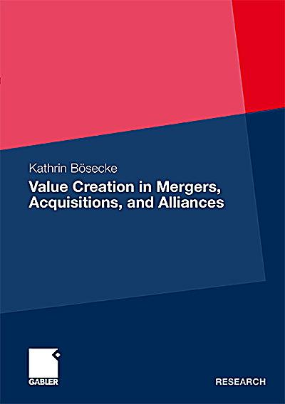 merger acquisitions and value creation He is coauthor with malcolm salter of diversification through acquisition: strategies for creating economic value (free press, 1979) and two hbr articles this article is about mergers & acquisitions.