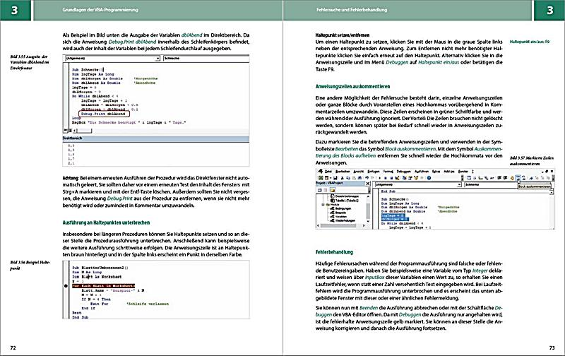 VBA mit Excel Buch von Inge Baumeister portofrei bei Weltbild.ch