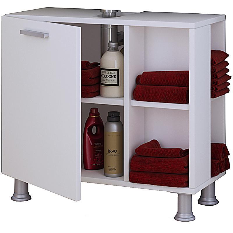 vcm bad unterschrank waschtisch waschbeckenunterschrank schrank m bel clevaso 50 x 60 x 29 cm. Black Bedroom Furniture Sets. Home Design Ideas