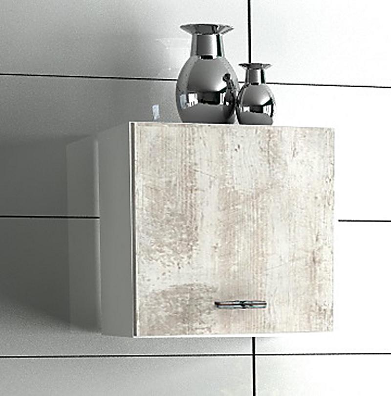 vcm badschrank bones 1 wandregal w rfel farbe wei wei. Black Bedroom Furniture Sets. Home Design Ideas
