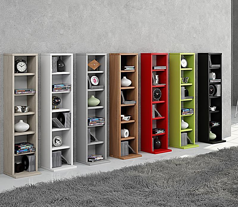 vcm regal dvd cd rack m bel aufbewahrung holzregal standregal m bel anbauprogramm elementa farbe. Black Bedroom Furniture Sets. Home Design Ideas