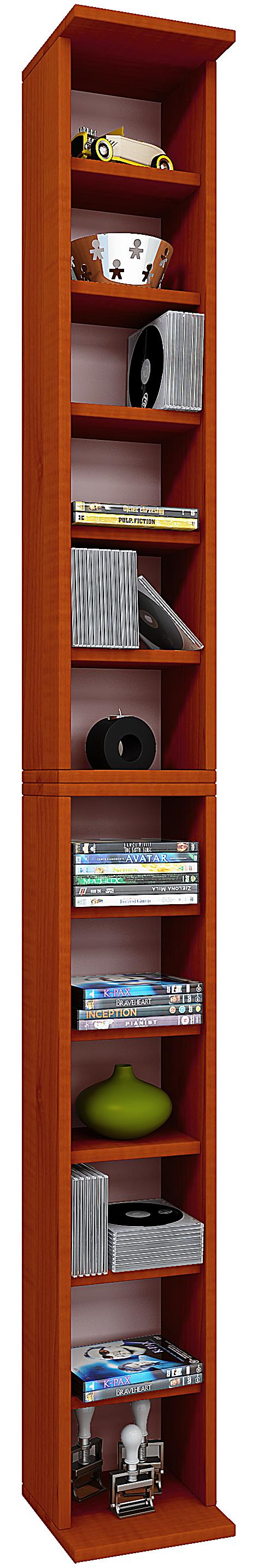 vcm regal dvd cd rack m bel aufbewahrung holzregal. Black Bedroom Furniture Sets. Home Design Ideas