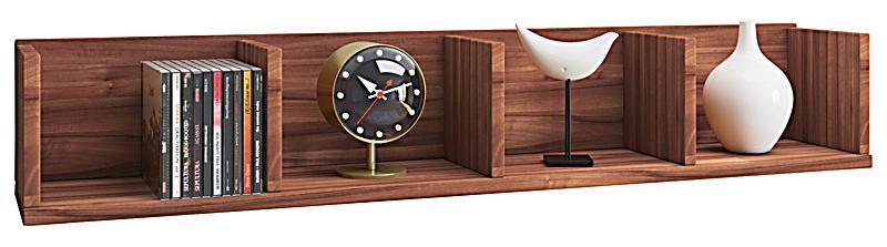 vcm wandregal honsa board m bel f r b cher figuren cds farbe kern nussbaum. Black Bedroom Furniture Sets. Home Design Ideas
