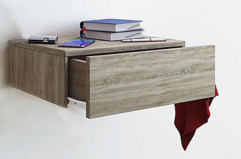 vcm wandschublade blado 1 wandregal wandablage. Black Bedroom Furniture Sets. Home Design Ideas