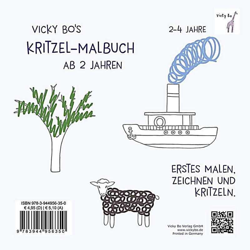 Vicky Bo\'s Kritzel-Malbuch Buch bei Weltbild.de online bestellen