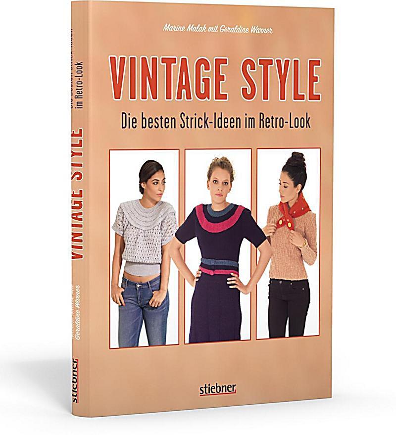 vintage style die besten strick ideen im retro look buch. Black Bedroom Furniture Sets. Home Design Ideas