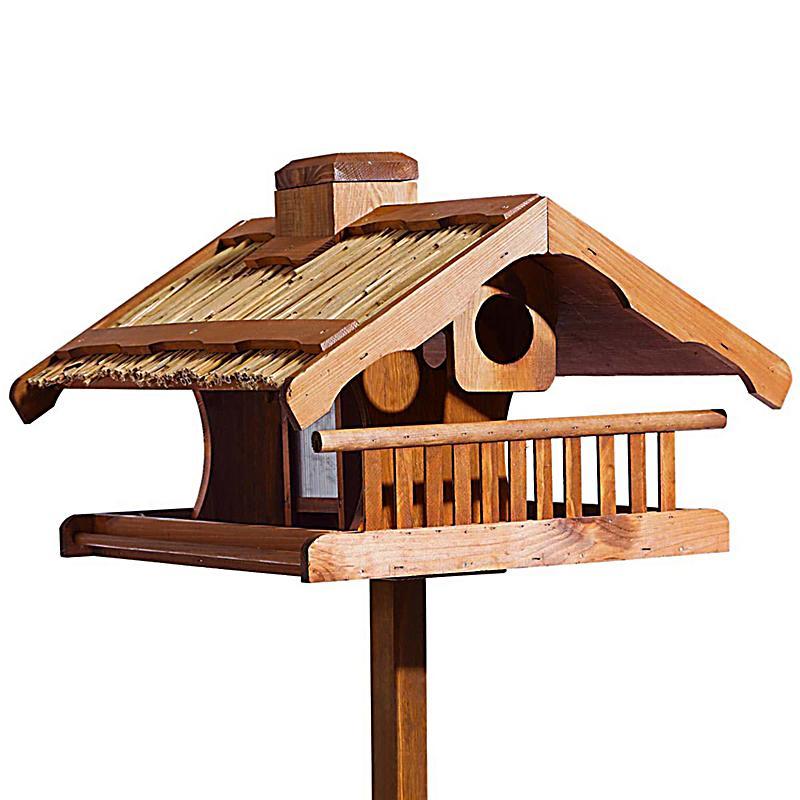 vogelhaus mit stand king size jetzt bei bestellen. Black Bedroom Furniture Sets. Home Design Ideas
