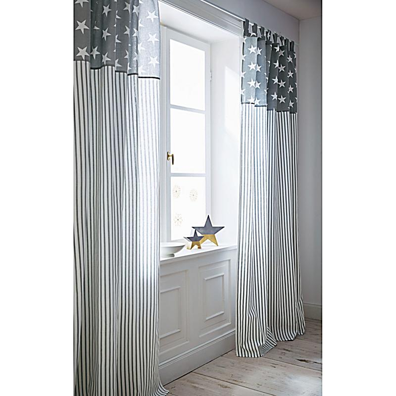 vorhang stars and stripes jetzt bei bestellen. Black Bedroom Furniture Sets. Home Design Ideas