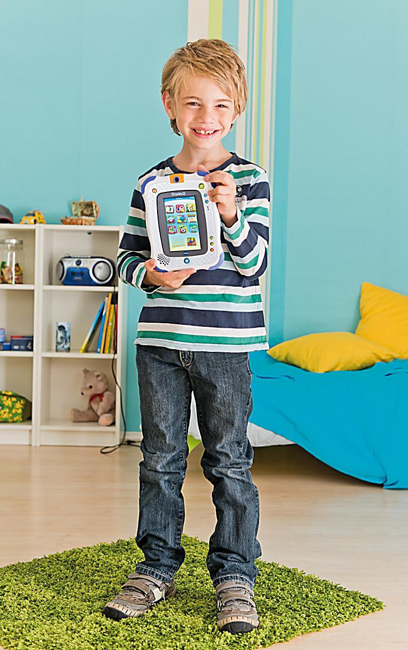 vtech storio 2 lern tablet f r kinder farbe blau. Black Bedroom Furniture Sets. Home Design Ideas