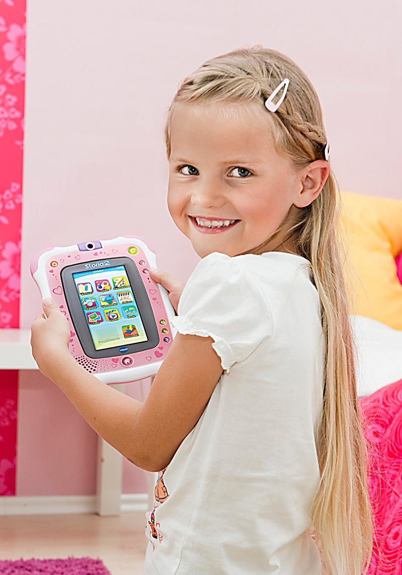 vtech storio 2 lern tablet f r kinder farbe pink. Black Bedroom Furniture Sets. Home Design Ideas