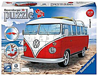 vw bus t1 3d puzzle jetzt bei bestellen. Black Bedroom Furniture Sets. Home Design Ideas