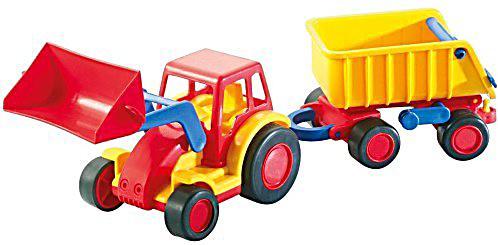 wader basics traktor mit h nger jetzt bei. Black Bedroom Furniture Sets. Home Design Ideas