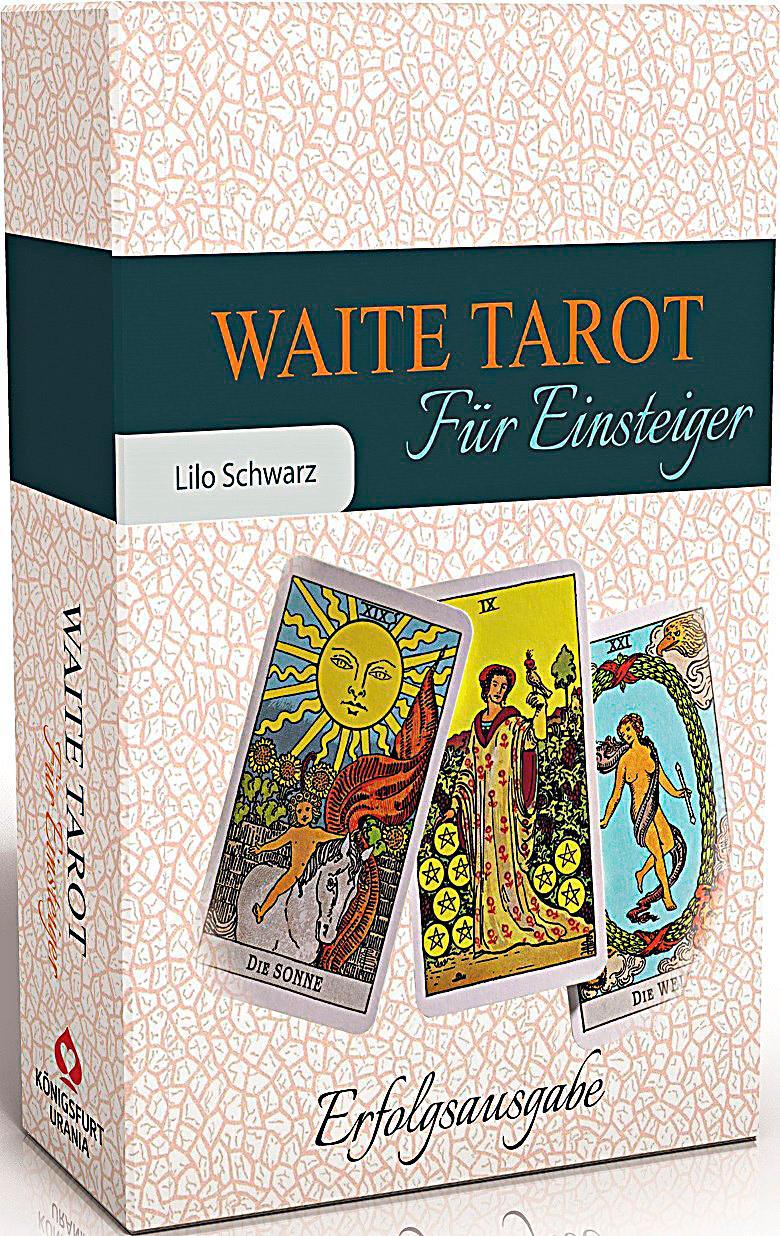 Waite Tarot für Einsteiger, m. Rider Waite-Tarotkarten Buch