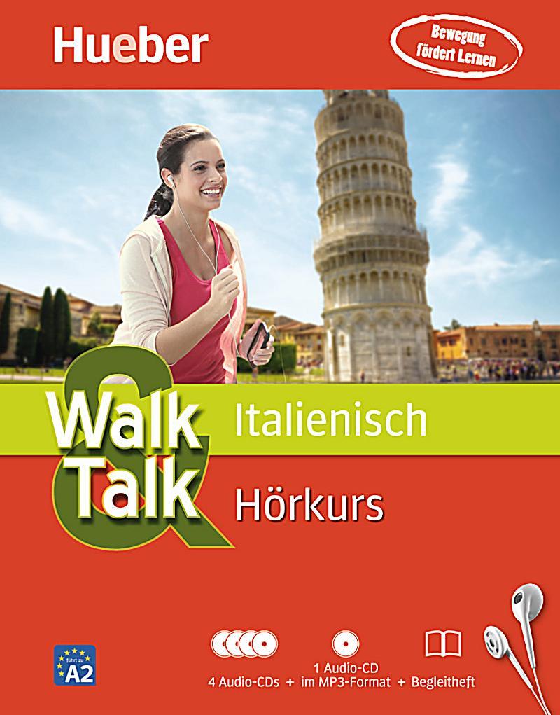 Walk & Talk Italienisch Hörkurs, 4 Audio-CDs + MP3-CD