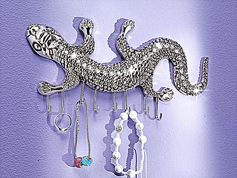 wand schmuckhalter gecko jetzt bei bestellen. Black Bedroom Furniture Sets. Home Design Ideas