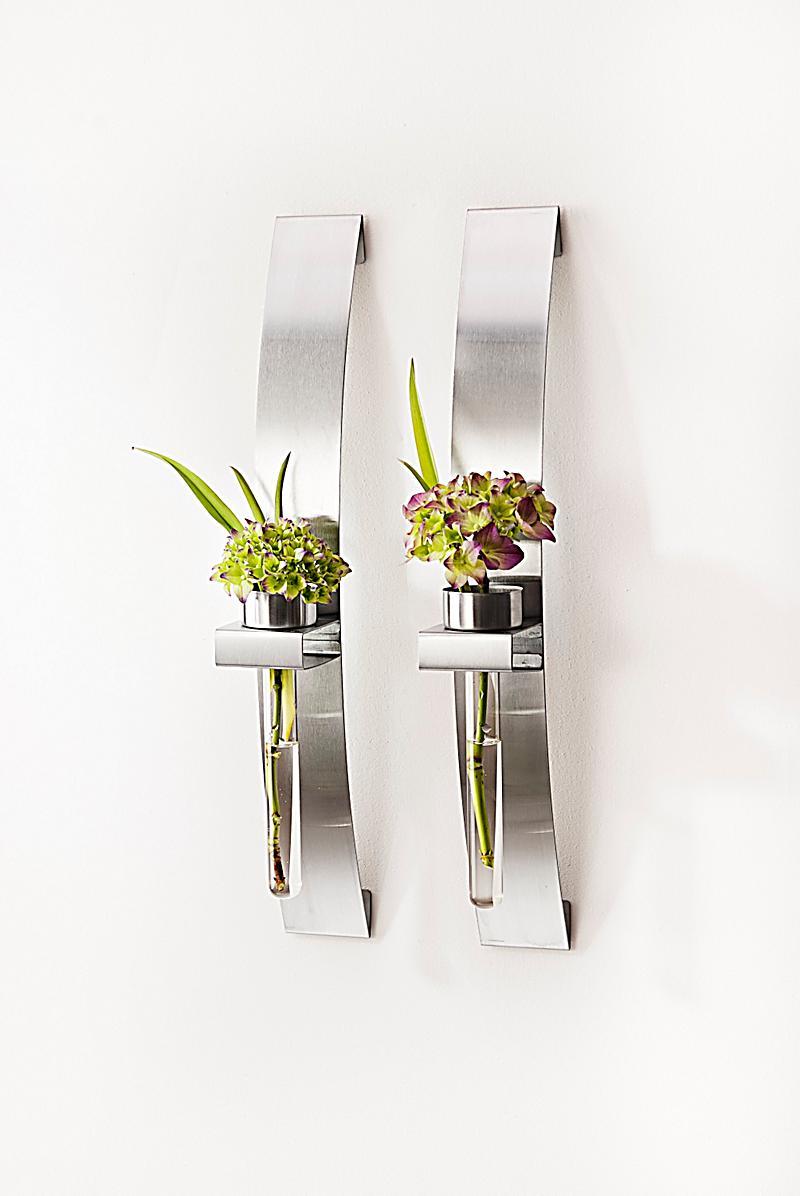 wand teelichthalter mit vase 2er set bestellen