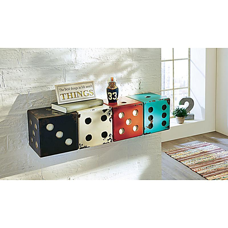 wandregal w rfel bunt jetzt bei bestellen. Black Bedroom Furniture Sets. Home Design Ideas