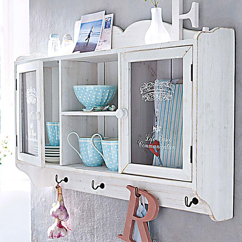 Wandschrank mit 2 Glastüren