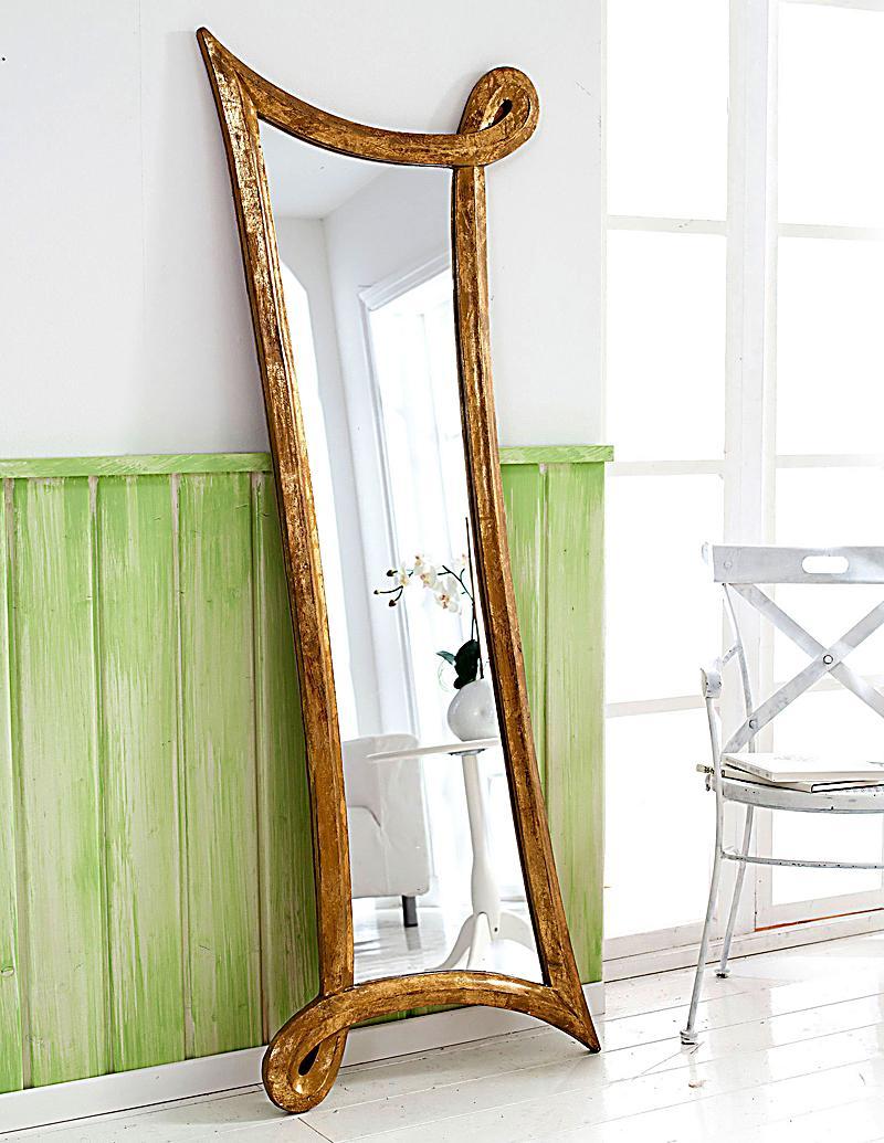 Wandspiegel swinging heart gold jetzt bei for Wandspiegel bestellen