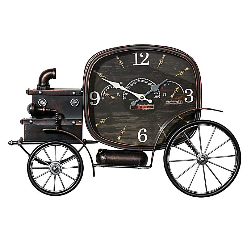 wanduhr oldtimer schwarz jetzt bei bestellen. Black Bedroom Furniture Sets. Home Design Ideas