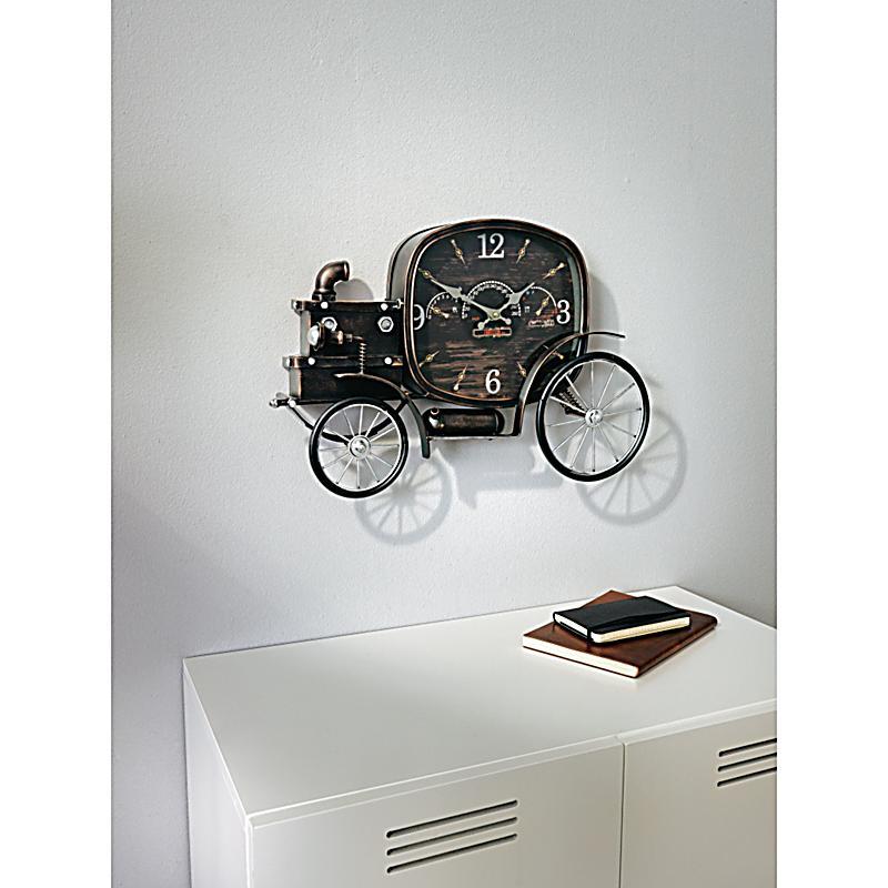 wanduhr oldtimer schwarz jetzt bei bestellen. Black Bedroom Furniture Sets. Home Design Ideas