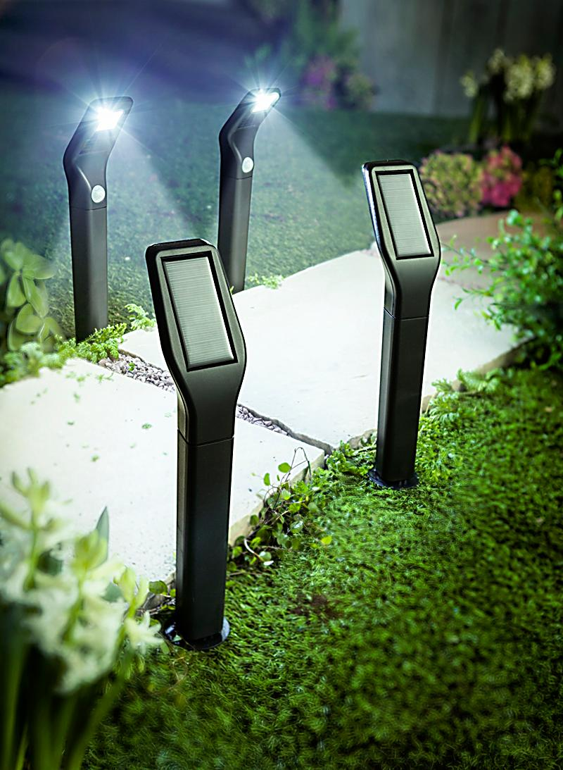 wegeleuchte solar einzeln jetzt bei bestellen. Black Bedroom Furniture Sets. Home Design Ideas