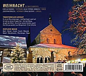 weihnacht in maulbronn cd von bach bei bestellen. Black Bedroom Furniture Sets. Home Design Ideas