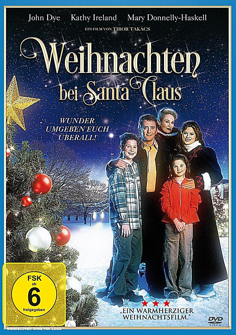 Weihnachten bei Santa Claus DVD bei Weltbild.de bestellen