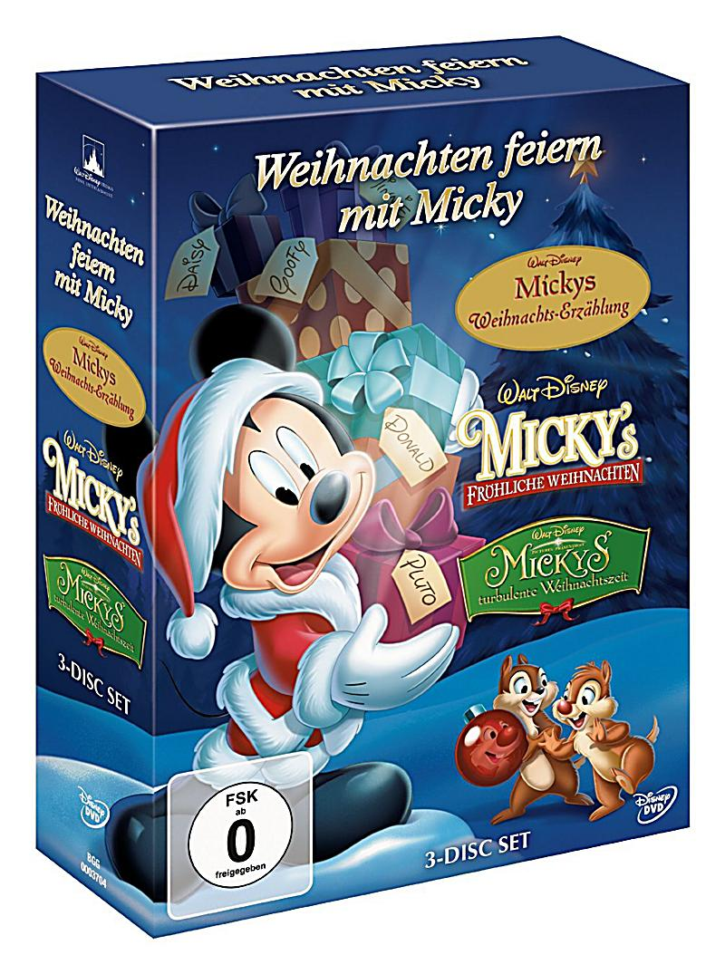 weihnachten feiern mit micky dvd bei bestellen. Black Bedroom Furniture Sets. Home Design Ideas