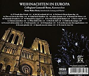 weihnachten in europa cd jetzt online bei bestellen. Black Bedroom Furniture Sets. Home Design Ideas