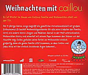 weihnachten mit caillou audio h rbuch bei. Black Bedroom Furniture Sets. Home Design Ideas
