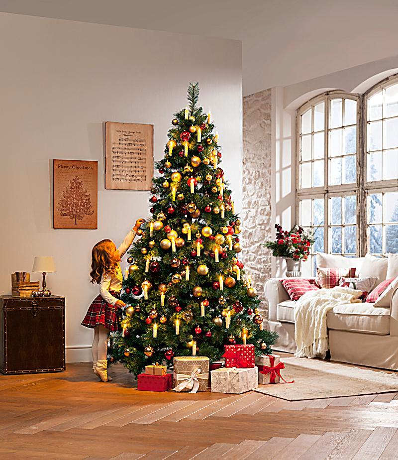 weihnachtskugeln gold 6er set jetzt bei. Black Bedroom Furniture Sets. Home Design Ideas