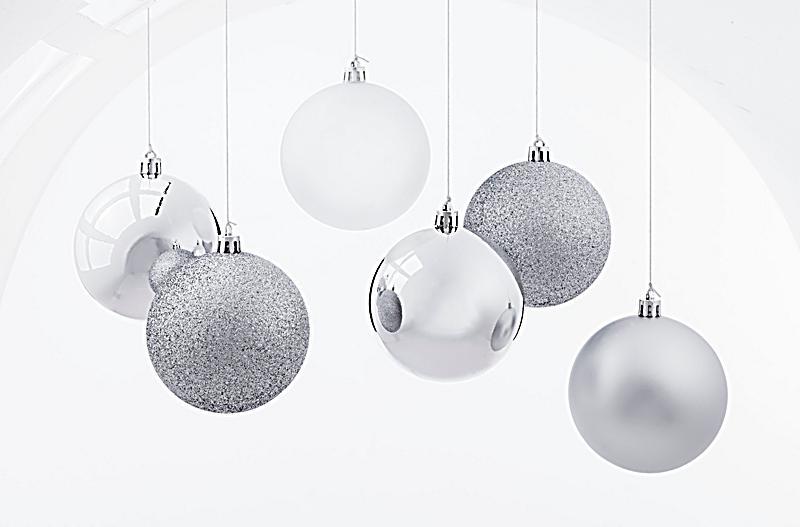 weihnachtskugeln silber 6er set jetzt bei bestellen. Black Bedroom Furniture Sets. Home Design Ideas