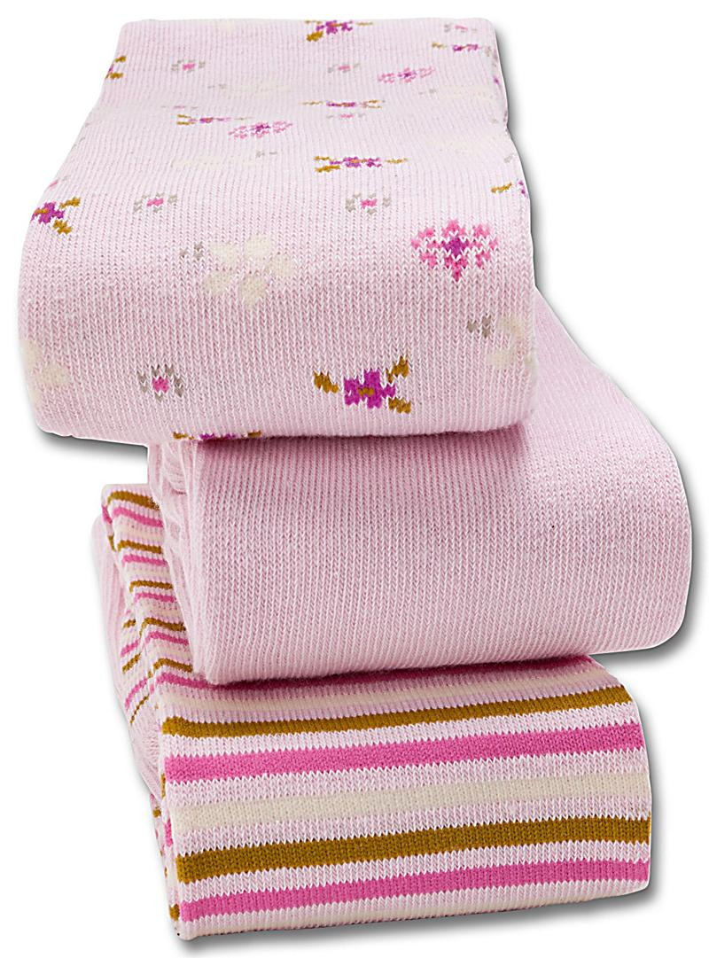 wellyou strumpfhosen 3er set rosa gr e 86 92. Black Bedroom Furniture Sets. Home Design Ideas