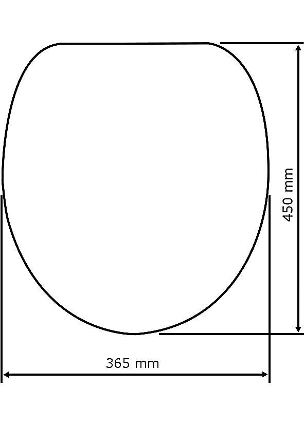 wenko wc sitz muschel mit 3d effekt absenkautomatik fix clip hygiene befestigung mdf. Black Bedroom Furniture Sets. Home Design Ideas
