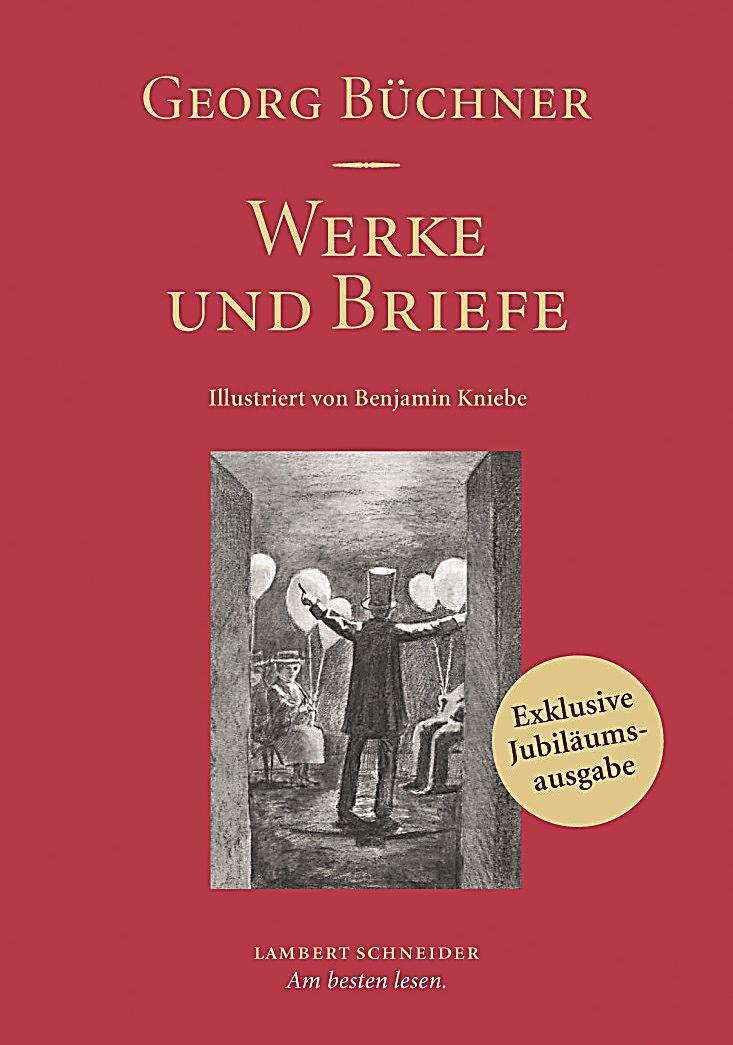 Briefe Von Georg Büchner : Werke und briefe buch von georg büchner portofrei bei