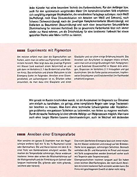 Werkstatt Farbe Buch von Hajo Düchting portofrei bei Weltbild.de