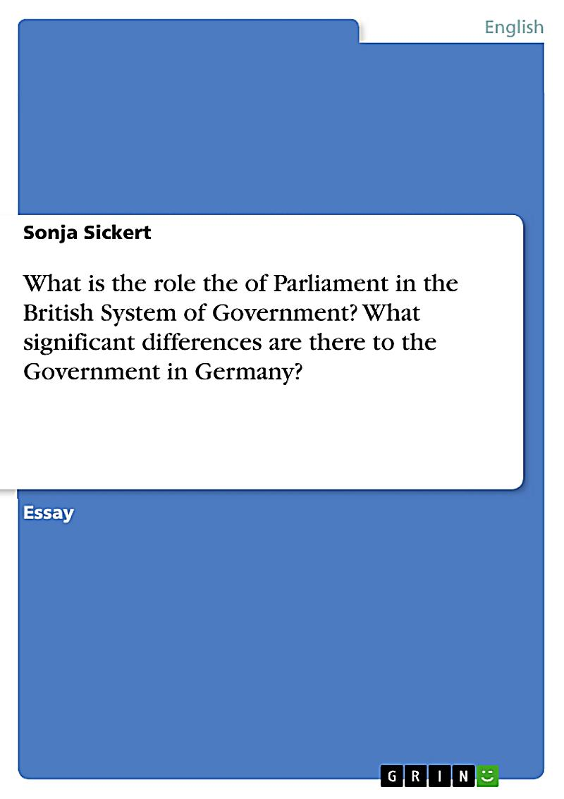 comparison of the british parliament and A comparison  report to uk parliament on control orders, at december 2007  there were 14 control orders in place in the uk, eight applying to british citizens.