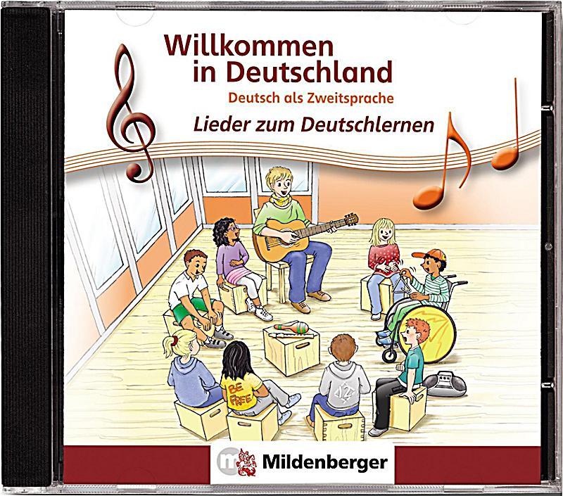 willkommen in deutschland lieder zum deutschlernen audio cd h rbuch. Black Bedroom Furniture Sets. Home Design Ideas