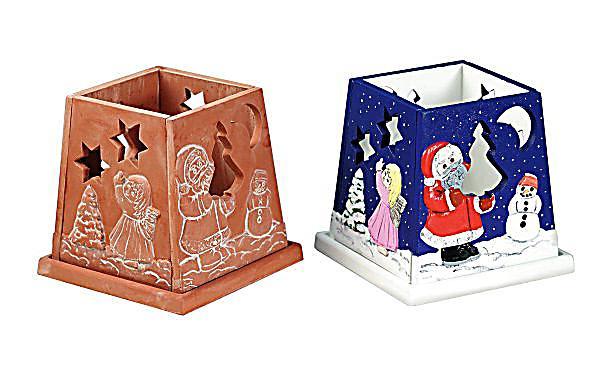 Windlicht weihnachten bastelset jetzt bei for Bastelset weihnachten