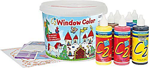 window color eimer 7 farben zubeh r. Black Bedroom Furniture Sets. Home Design Ideas