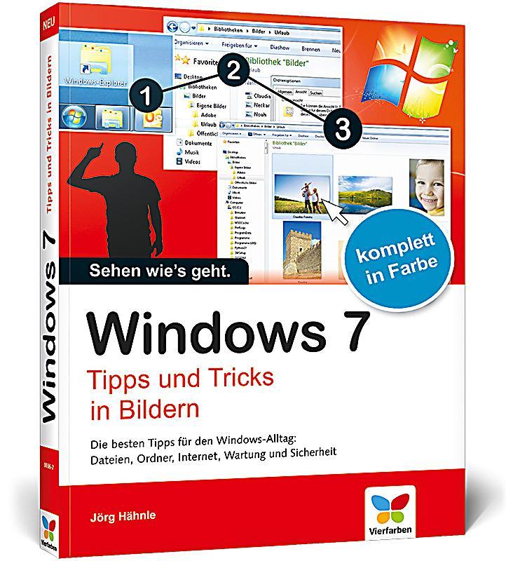 windows 7 tipps und tricks in bildern buch portofrei bestellen. Black Bedroom Furniture Sets. Home Design Ideas