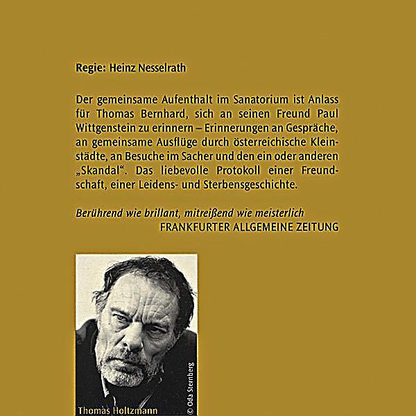 Wittgensteins neffe 4 audio cds hrbuch gnstig bestellen wittgensteins neffe 4 audio cds produktdetailbild 1 fandeluxe Images